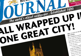 Worcester BID – newspaper wrap