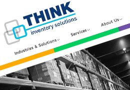 Think Inventory Solutions Branding for Brochure & Website